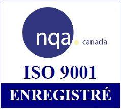 Certifiée ISO 9001